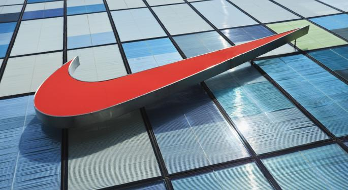 Nike Shows Athletic Apparel Market in Growth Mode