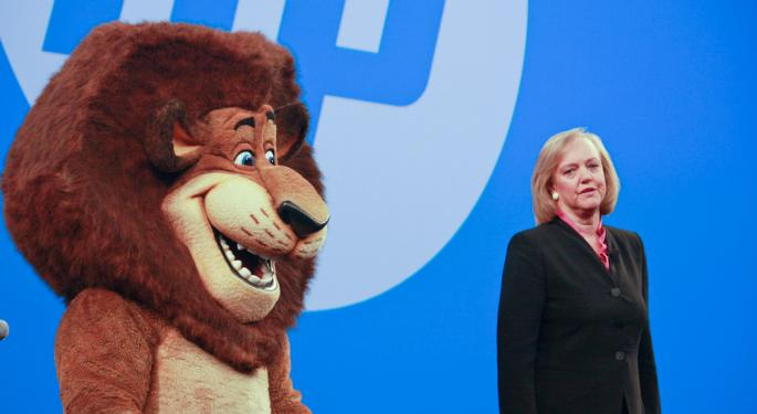 Hewlett-Packard No Longer Interested In Multi-Billion-Dollar Acquisitions HPQ