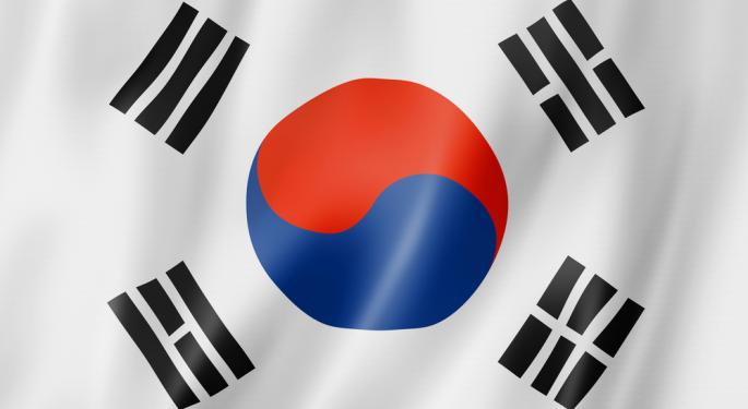 Them is Fightin' Words For South Korea ETF