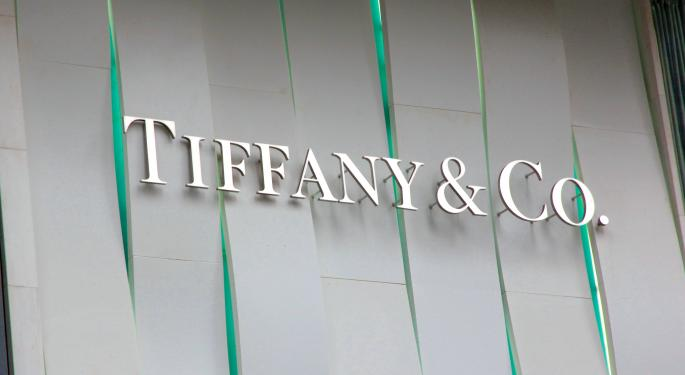 Tiffany Trades Up 2% on Q4 Results
