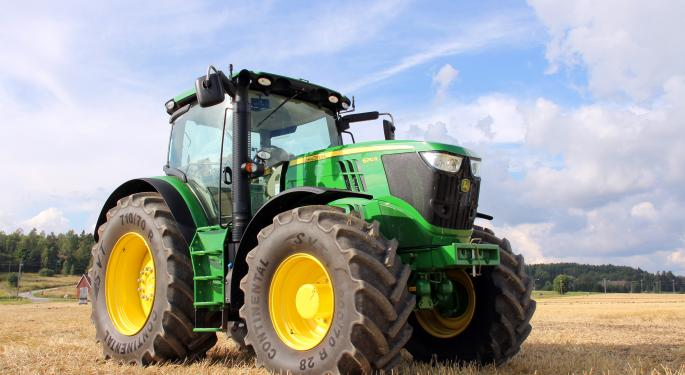 Deere Mows Over Estimates, Posts 11th Consecutive Record Earnings