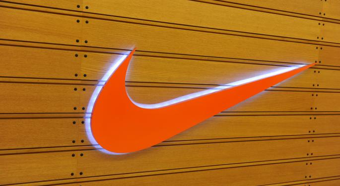 Nike Posts Gains in Second Quarter