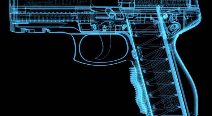 Gun Stocks Tumble Despite Guidance Boost