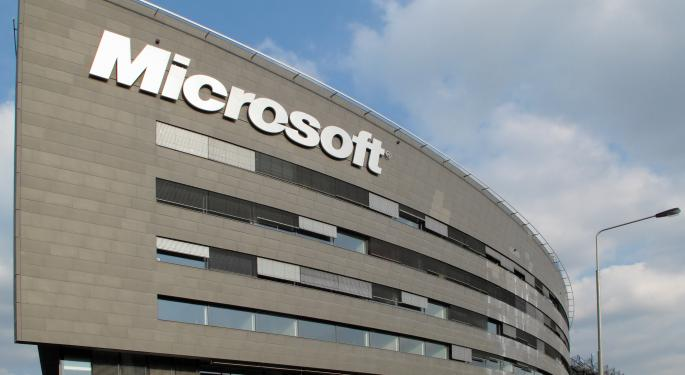 Microsoft Rises 3% After Q2 Earnings Beat