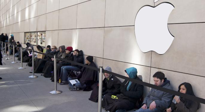 Apple Sets New iPhone Sales Record and Blows Past Estimates AAPL