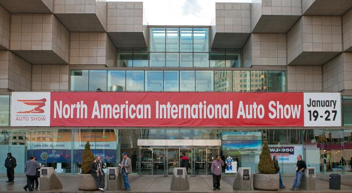 Auto Industry Revs Up For NAIAS In Detroit