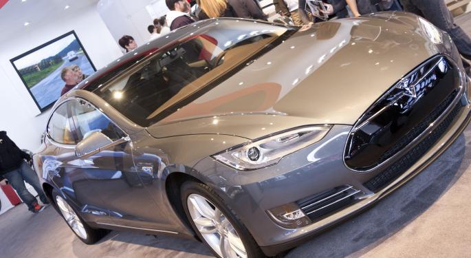Tesla Jumps After Crushing Analyst Estimates