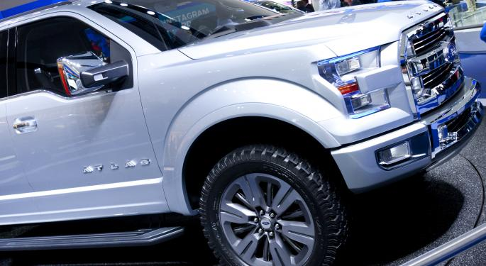 Ford Expected to Unveil Aluminum-Bodied F-150