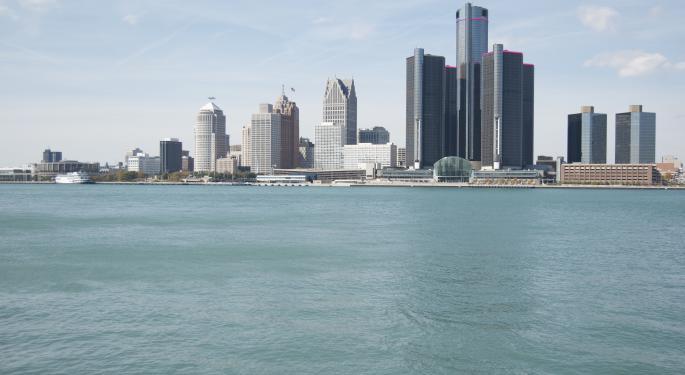 General Motors Revs Ups Its Engines At Detroit's Auto Show