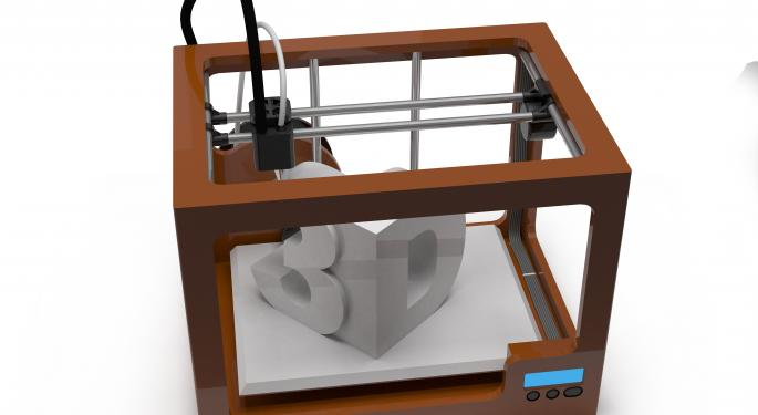 Jefferies: 3D Printers Are About To Burst Across Many Fields
