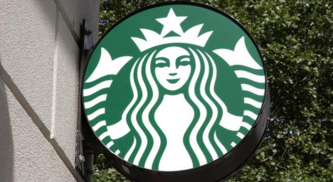 Starbucks Rises Slightly After Q1 Earnings Beat