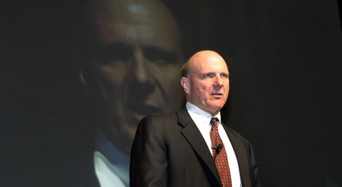 Steve Ballmer's 'Big Moment' Is Now, Says Former Apple CEO John Sculley MSFT