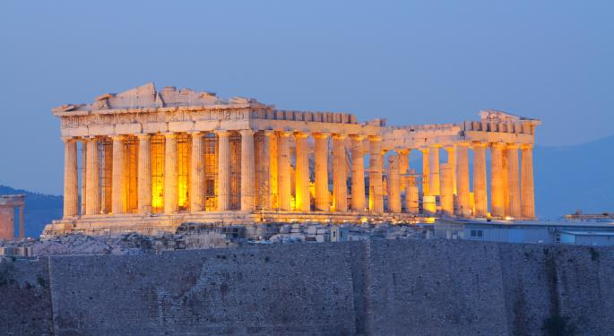 Greece's Days as a Developed Market Could be Numbered