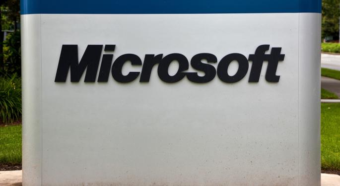 Microsoft Jumps 6% After Q1 Earnings Beat