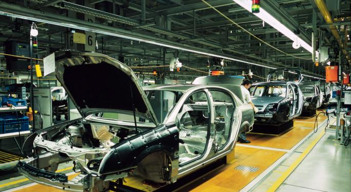 ISM Manufacturing Survey: Headline Up, Details Mixed