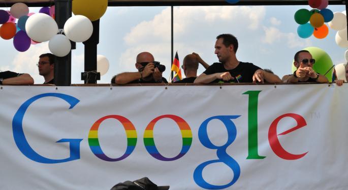 Google Climbs on Q4 Results