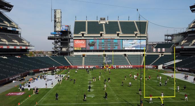 The Philadelphia Eagles Stadium Literally Powers the City