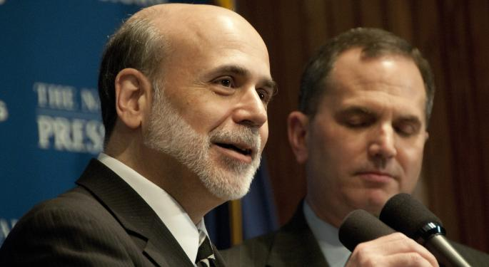 Bernanke Reiterates Late 2013 Tapering, Notes Can Increase Purchases If Economy Misses Forecasts