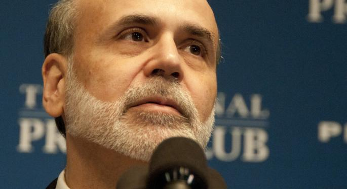 Ben Bernanke Addresses Michigan Students at the Ford School