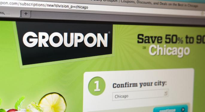 UPDATE: Piper Jaffray Upgrades Groupon to Overweight on Expected International Progress
