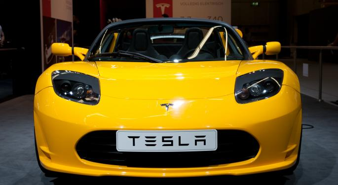 Sparks Fly on Tesla Shares After Third Model S Fire