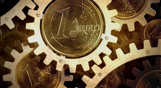 Euro Strong at $1.30 Despite Poor Industrial Output Data