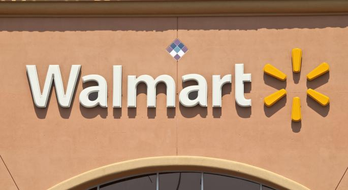 Shares of Wal-Mart Drop Premarket After Q1 Earnings Released