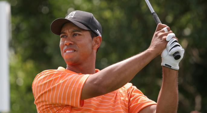 Tiger Woods Back to World's Highest Paid Athlete, Thanks to Lucrative Nike, Electronic Arts Deals