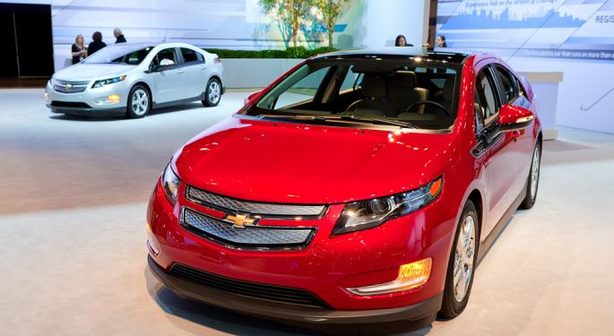 GM's Volt Continues Strong Sales