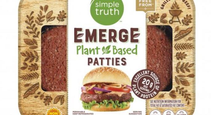 Kroger Announces Launch Of Branded Plant-Based Meat