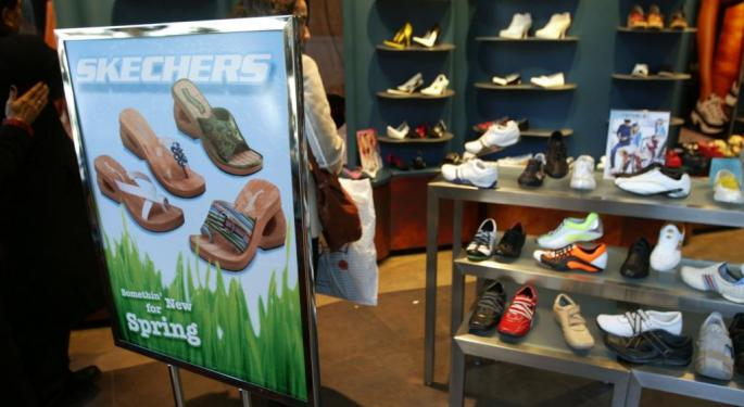 Adam Sarhan: If The Market Rallies, Sketchers May Help Lead It