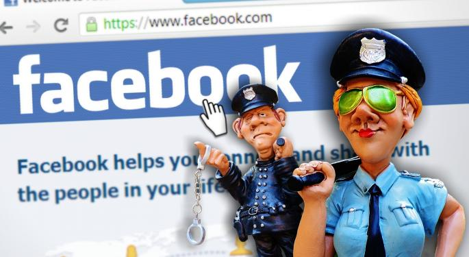 Copyright Issues Posted On Facebook Are Apparently More Important Than Violent Crime