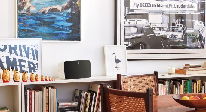 Pump Up The Volume: Morgan Stanley Thinks Sonos Could Go Higher