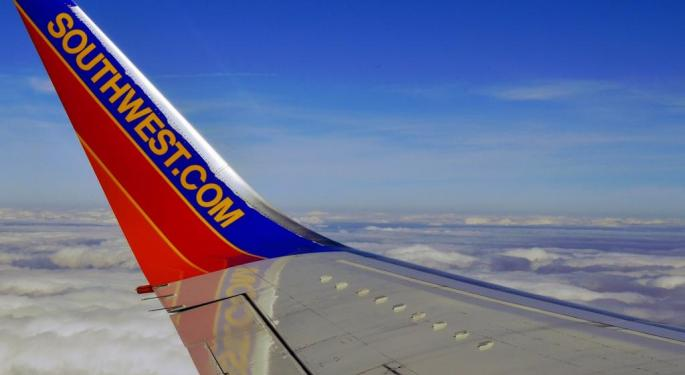 Southwest Airlines Lowers ASM Growth Guidance