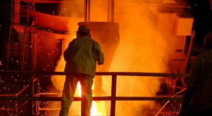 Morgan Stanley Upgrades US Steel, Sees Near-Term Bounce In Steel Prices