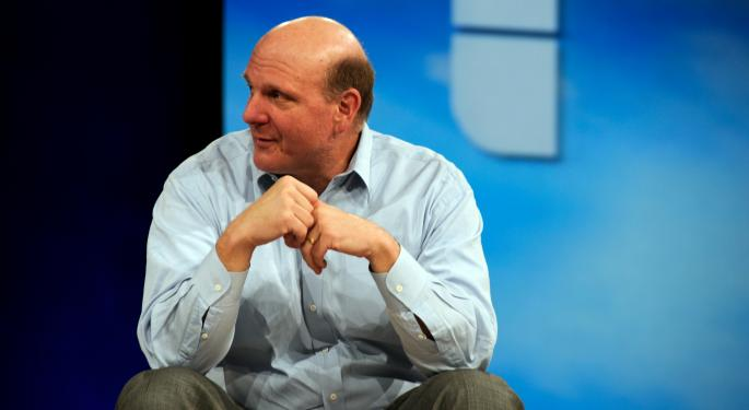 Ballmer Advises Dorsey To Ignore Stock Price, Sees Facebook Pressuring Snap