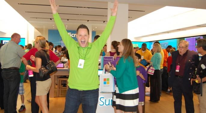 SLIDESHOW: This is What You Could Win at a Microsoft Store Opening Event MSFT