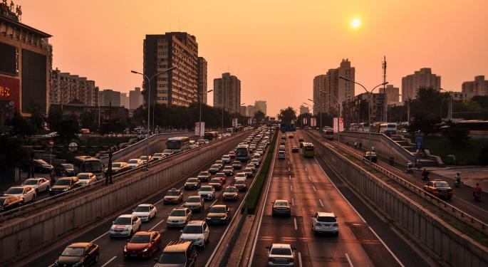 Chinese Auto Sales Are Under Pressure