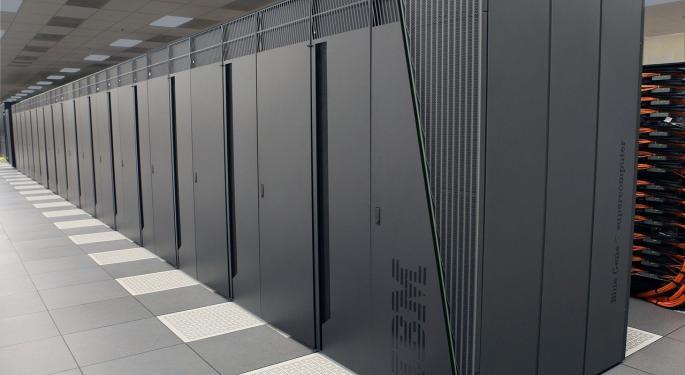 Morgan Stanley Downgrades IBM, Says Revenue Growth Slowing