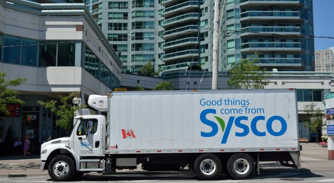 JPMorgan Says Accumulate Sysco Shares In The Low $50s