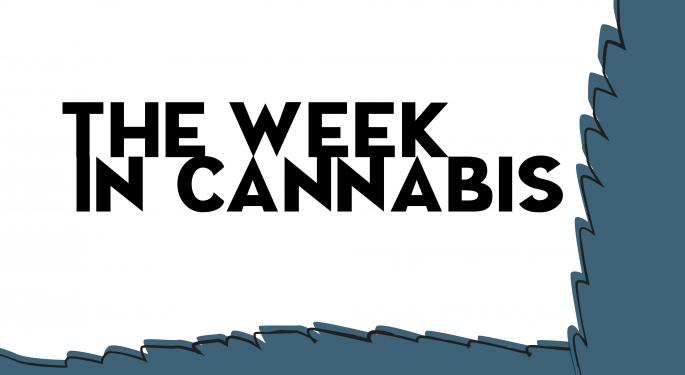 The Week In Cannabis: Stocks Rebound Hard And Many More News