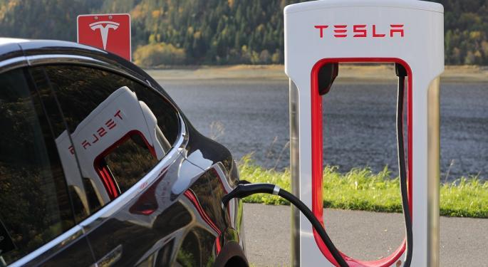 Tesla Spikes On Earnings Beat