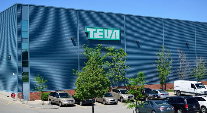 Credit Suisse Stays Sidelined On Teva: 'Our Growth Expectations Are Below That Of The Company'