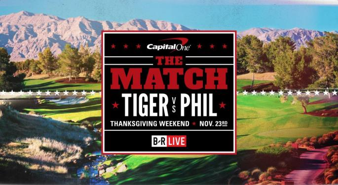 'The Match': Pay-Per-View Golf May Be A First, But Primetime Tee-Offs Are Nothing New