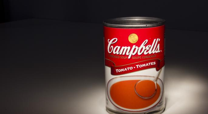 Campbell Soup Falls Amid Report Company Doesn't Plan To Sell Itself To A Strategic Buyer
