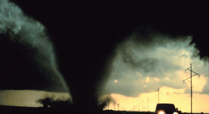 Tornado Outbreak To Slam The Great Plains This Week