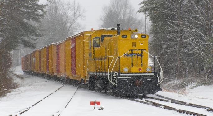 Construction Pace Slows Down At Union Pacific's Brazos Classification Yard