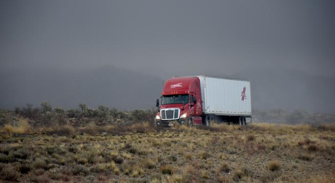 This Week's Freight Forecast December 2-6