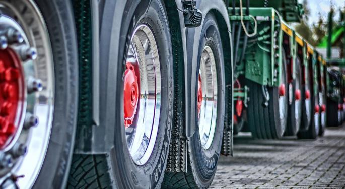 Trucking Freight Futures Market Activity 11-15-2019