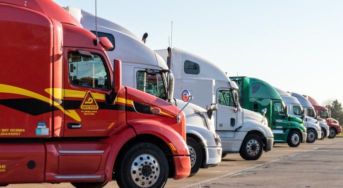 Trucking Rates Fall Again